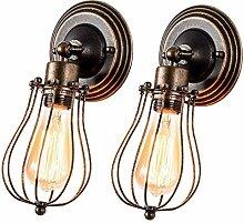 Wandleuchte Vintage Verstellbar Metall Wandlampe