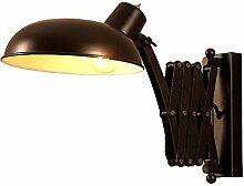Wandleuchte Vintage Wandlampe Ausziehbar