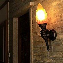 Wandleuchte/Wand Feuer Griff Lampe Aluminium Retro