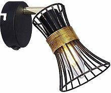 Wandleuchte Wandlampe Treppenbeleuchtung | Metall