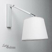 Wandleuchte weiß Bauhaus 1xE27 bis 60W Wandlampe