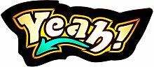 Wandleuchte YEAH Schwarz Gelb E14 Für Kinder