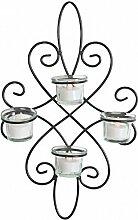 Wandleuchter Roma für 3 Teelichte