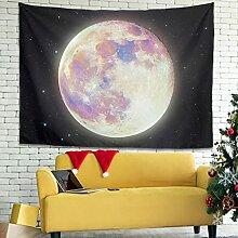 Wandlovers Fantasy Mondlicht Wandbehang Tapisserie