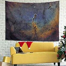 Wandlovers Galaxiennebel Sterne Raum Bunt