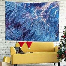 Wandlovers Psychedelisch Wellen Kunst Wandbehang