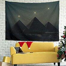 Wandlovers Sternbild Sterne Pyramiden Wandbehang