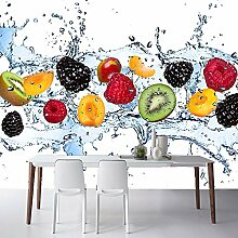 Wandmalerei Frisches Obst Fototapete Restaurant