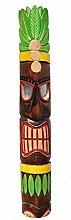 Wandmaske 100cm Tiki Dekoration Holzmaske