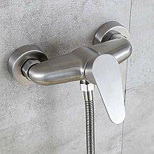 Wandmontage Edelstahl Bad Dusche Mischbatterie