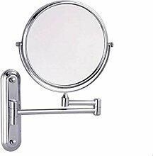 Wandmontage Kosmetikspiegel Badezimmer Klappbar
