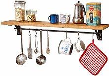 Wandmontage Küchenregal, amerikanische