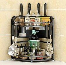 Wandmontage Küchenregal Bodenmesser Regalständer