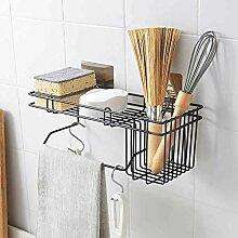 Wandmontage Küchenregal Lappen Geschirrtuch