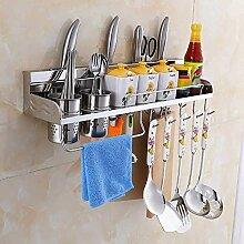 Wandmontage Küchenregal Messer Regal Waschbecken