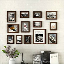 Wandmontage Mehrere Bilderrahmen Collage mit