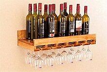 Wandmontage Weinflaschenhalter Organizer, Flasche