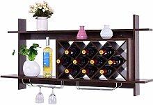 Wandmontage Weinregal, Aufbewahrungsbehälter mit