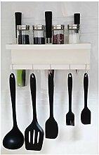 Wandmontiertes Gewürzregal – Messer-Organizer,