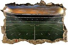 wandmotiv24 3D-Wandsticker American Football