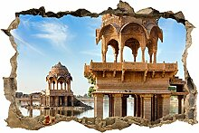 wandmotiv24 3D-Wandsticker Gadi Sagar See, Indien