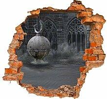 wandmotiv24 3D-Wandsticker Mittelalterliche