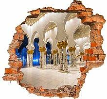 wandmotiv24 3D-Wandsticker Scheich Zayed Grand