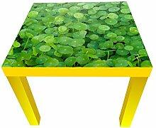 wandmotiv24 Beistelltisch Grünpflanzen