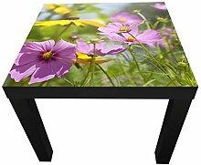 wandmotiv24 Beistelltisch Schöne Frühlingsblumen