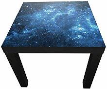 wandmotiv24 Beistelltisch Sternennebel Designtisch