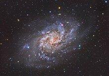 wandmotiv24 Fototapete Galaxy Universum L 300 x