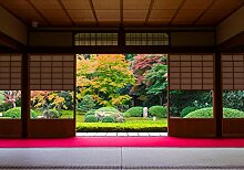 wandmotiv24 Fototapete Japanische Architektur