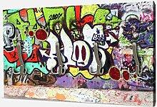 wandmotiv24 Garderobe Graffiti 2 Wandgarderobe