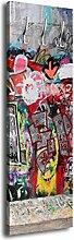 wandmotiv24 Garderobe mit Design Graffitiwand 5