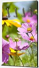 wandmotiv24 Garderobe Schöne Frühlingsblumen