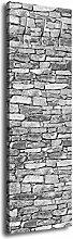 wandmotiv24 Garderobe Set Steinmauer