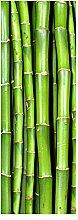 wandmotiv24 Türtapete Bambuswand 70 x 200cm (B x