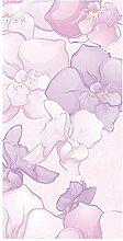 wandmotiv24 Türtapete Elegantes Blumenmotiv 100 x