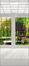 wandmotiv24 Türtapete Fenster Aussicht 90 x 200cm