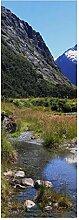 wandmotiv24 Türtapete Fjordlandschaft Natur 70 x