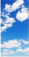 wandmotiv24 Türtapete Himmel Natur 100 x 200cm (B