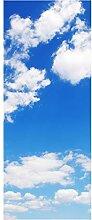 wandmotiv24 Türtapete Himmel Natur 80 x 200cm (B