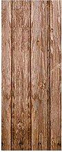 wandmotiv24 Türtapete Holzwand Tapete Tür
