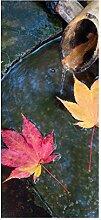 wandmotiv24 Türtapete Japanischer Zengarten 90 x