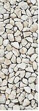 wandmotiv24 Türtapete Kieselsteinzusammensetzung