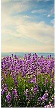 wandmotiv24 Türtapete Lavendel 100 x 200cm (B x
