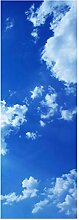 wandmotiv24 Türtapete Sommerhimmel 70 x 200cm (B