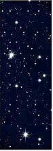 wandmotiv24 Türtapete Sternenhimmel 70 x 200cm (B