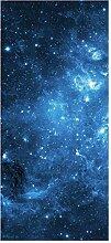 wandmotiv24 Türtapete Sternennebel 90 x 200cm (B