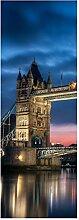 wandmotiv24 Türtapete Towerbridge London 70 x